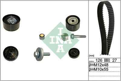 INA Timing Belt Kit 530048010 Fit with Audi A4