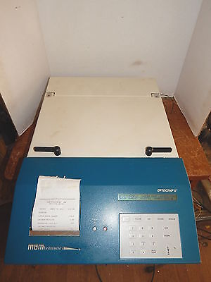 MGM Instruments Optocomp II Automated Tube Luminometer, Dual Injector #689-015