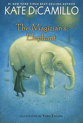 The Magician's Elephant by Kate DiCamillo (English) Paperback Book Free Shipping