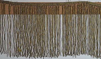 Amazing Antique 19Th Century Bullion Fringe Trim  Rr712