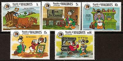Maldive Islands Sg1143/8 1985 Grimm Bro's Part Set Mnh