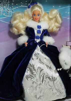 Winter Princess Barbie 1993, MIB NRFB - 10655