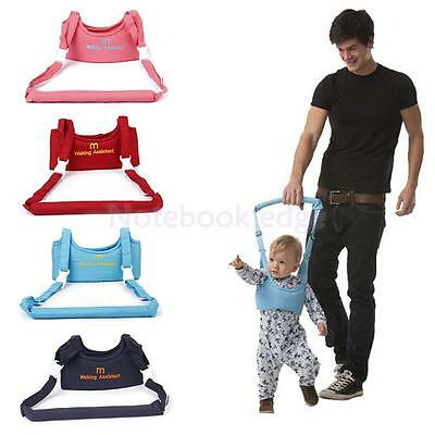 Baby Toddler Walking Assistant Waistcoat Walking Safety Reins Harness 4 Color