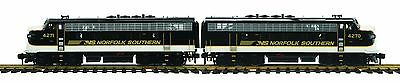 MTH 70-2103-1, One Gauge, F-7 AA Diesel Set w/Proto-Sound 3.0 - Norfolk Southern