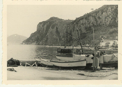 18 Photos Capri Italie Vers 1950