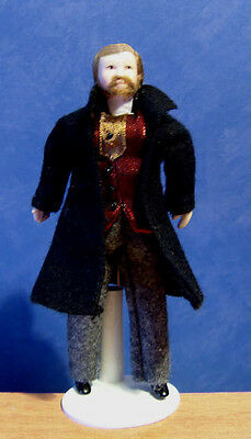 1/12, Dolls House Miniature Father Gentleman Doll Man doll people miniatures LGW