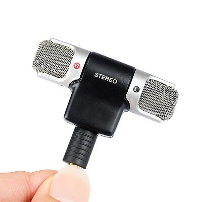 Professional Stereo External Microphone Dual Wireless Recording With Low Noise