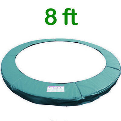 Trampoline Replacement Pad Safety Padding Spring Cover 8ft Green