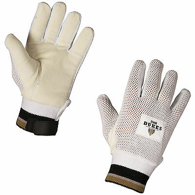 Dukes Cricket Wicket Keeper's Chamois / Cotton Inner Gloves - All Sizes