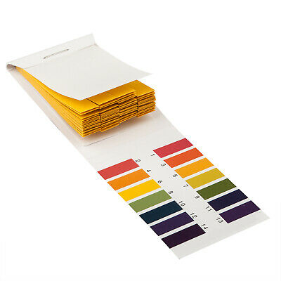 Litmus pH 1 to 14 Test Paper Book 80 Strips - By TRIXES