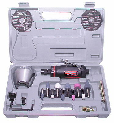 "FREE SHIPPING  CANADA - 3"" AIR CUT OFF TOOL & 1/4"" DIE GRINDER KIT Comfort Grip"