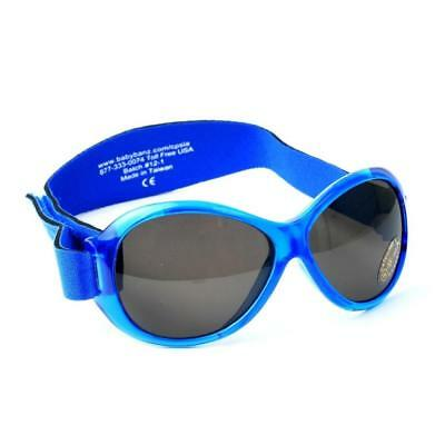 Baby Banz Retro Sunglasses 100% UVA/UVB Protection (Ages 0-2yrs) Blue