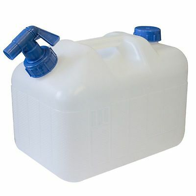 SunnCamp 15 Litre Water Carrier Jerry Can With Moulded Handle Camping Caravan