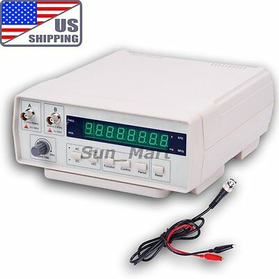 US VC3165 Radio Frequency Counter RF Meter Tester Gauge 0.01Hz~2.4GHz Signals