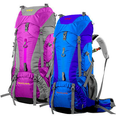 65L Waterproof Outdoor Sports Backpack Internal Frame Bag Climbing Hiking Pack