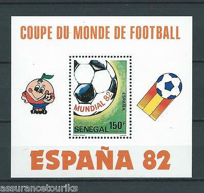Senegal Football - 1982 Yt 28 - Timbres Neufs** Luxe