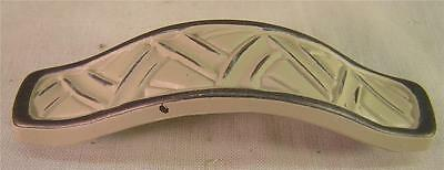 """10 Vintage Style Painted White Metal Handle Pull 4"""" Cabinet  Furniture Hardware • CAD $31.46"""