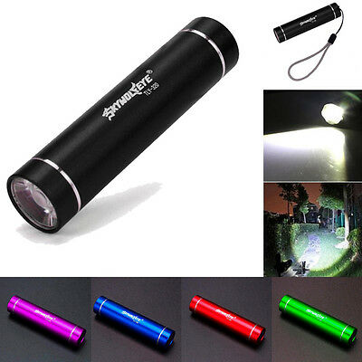 1000 Lumen Cree Q5 LED Tactical Flashlight Torch Lamp Bright Light AA High Power