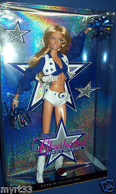 BARBIE DALLAS COWBOYS CHEERLEADER Blonde 2007 America's Sweethearts - NIB
