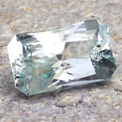 UNTREATED BLUE GREEN TOPAZ-NIGERIA 19.31Ct TOP COLLECTOR GRADE-PERFECT CUT!!