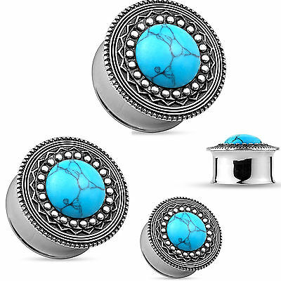 Piercing Deals Elephant Surgical Steel Flared Tunnel Ear Plugs Gauges Sold in Pairs GA30S
