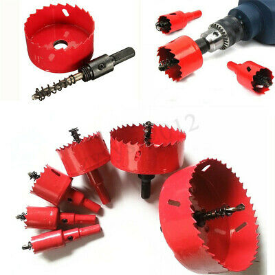 16mm-70mm BI Metal M42 HSS Hole Saw Cutter Drill Bit Set for Aluminum Iron Wood