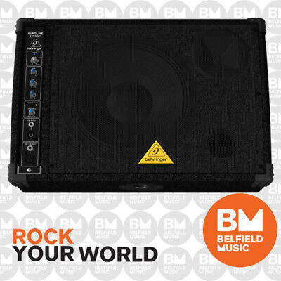 Behringer EUROLIVE F1320D Active PA Monitor Speaker Foldback 2-Way 300W 12''