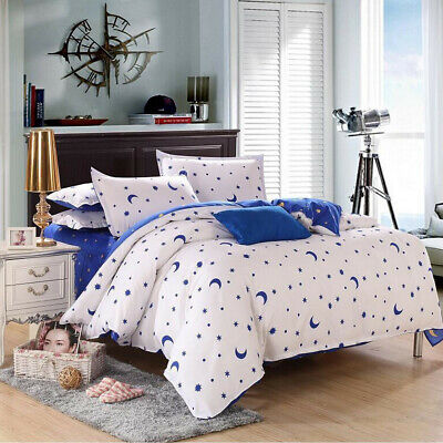 Modern Duvet Cover With Pillow Case Quilt Cover Bedding Set Single Double King
