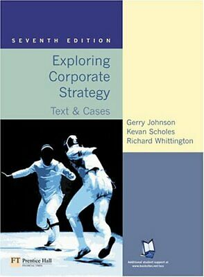 Exploring Corporate Strategy: Text & Cases:... by Whittington, Richard Paperback