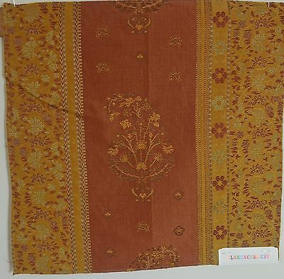 "Superb Memo Sample Of Clarence House Italian ""Gravia"" Fabric Rr750"