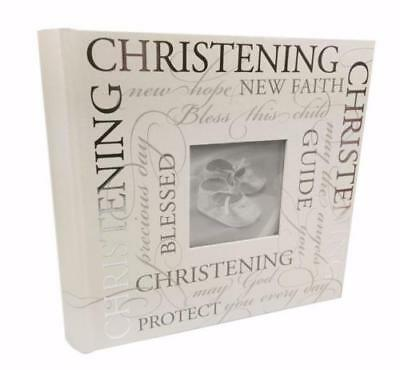 Christening Photo Album With Sentiments Gift 5 x 7 60981