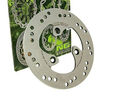 Brake disc NG 190mm with KBA for Benelli 491 K2 Malaguti F12 F15 Peugeot Ludix