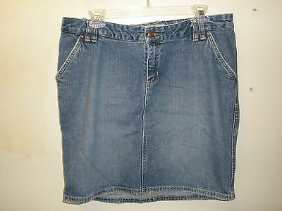 Maternity Old Navy Jean Skirt Size M (T85)