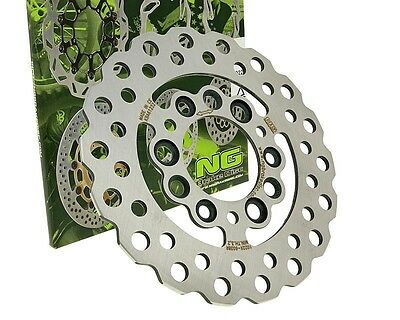 Brake Disc NG Multi Disc Wavy 190mm with KBA MBK OVETTO Stunt PEUGEOT Buxy 50