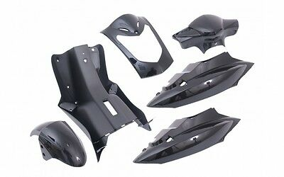 Fairing Kit Fairing parts in black for Kymco Agility