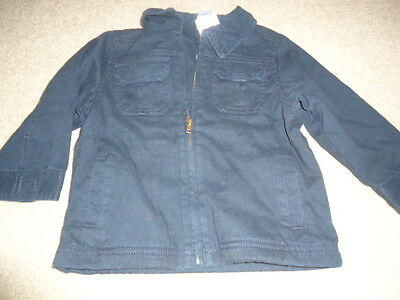 Gymboree Boy's Black Jacket with Fleece Inside - 2-3T - NWT