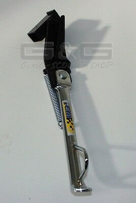 SIDE STAND IN CHROME LOOK FOR APRILIA SR50 SR 50 Netscaper Stealth WWW