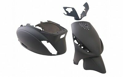 Fairing set fairing Fairing parts Black Mat Piaggio ZIP II ab 00