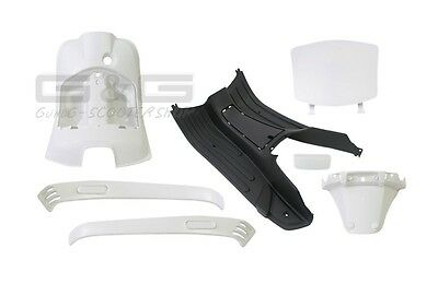 Interior Fairing 7 Fairing parts White for Piaggio Vespa LX / S 50-125