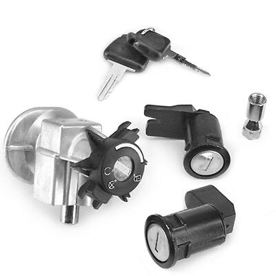Ignition Lock Key Cylinder Lock Set Peugeot Elystar Elyseo 125-150