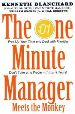 One Minute Manager Meets the Monkey (The One Minute... by Burrows, Hal Paperback