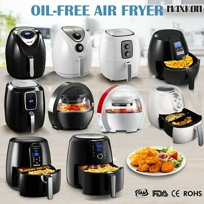 Air Fryer Roast Grill Bake Low Fat Healthy Kitchen Appliance Fast Oven Cooker