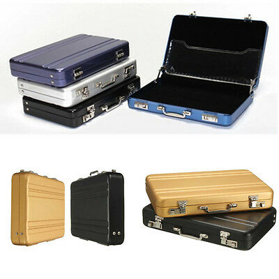 Mini Brief Case Credit ID Card Holder Aluminium Metal Business Wallet Box Hot