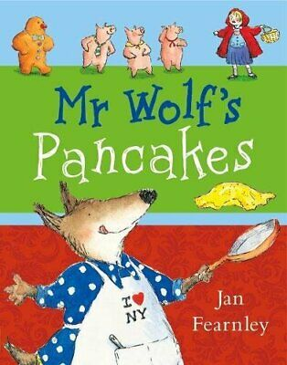 Mr Wolf's Pancakes by Fearnley, Jan Paperback Book The Cheap Fast Free Post