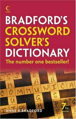 Collins Bradford's Crossword Solver's Dictionary by Bradford, Anne R. Hardback