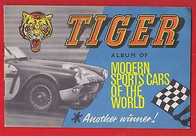 Fleetway, Tiger, Modern sports cars of the world, Full set in album