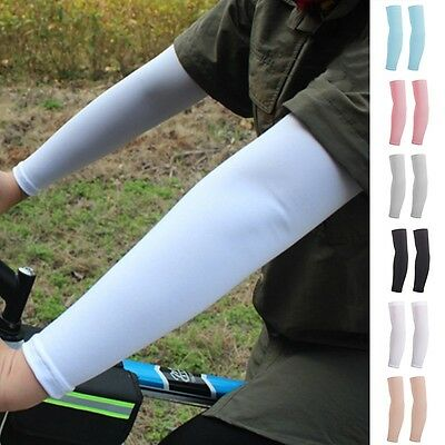 New Bicycle Cuff Sleeve Cover Outdoor Cycling Anti-UV Sunscreen Arm Protection