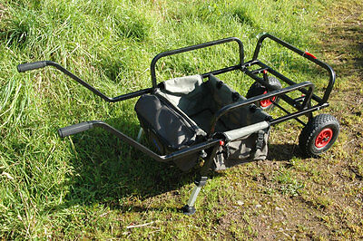 Bison 2 Wheel Fishing Barrow Carp Porter