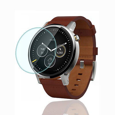 9H Tempered Glass Clear LCD Screen Protector Film for Motorola Moto 360 2nd 46mm