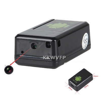 GF-08 MMS Video Safe Tracking Locator Black Recording Photographed band GSM DVR